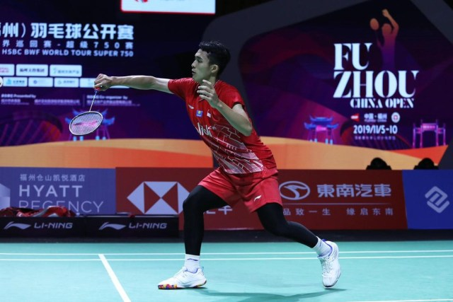 Fuzhou China Open 2019, Jonatan Christie