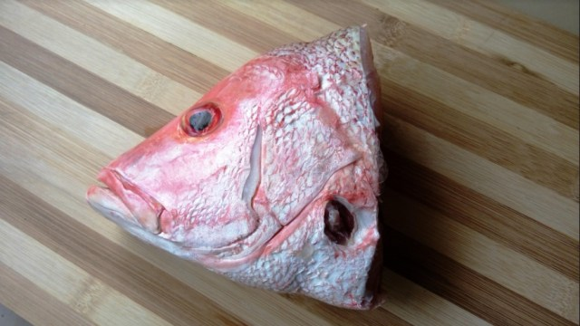 Resep Makanan Keluarga: Gulai Kepala Ikan Kakap Kuah Susu (1226103)