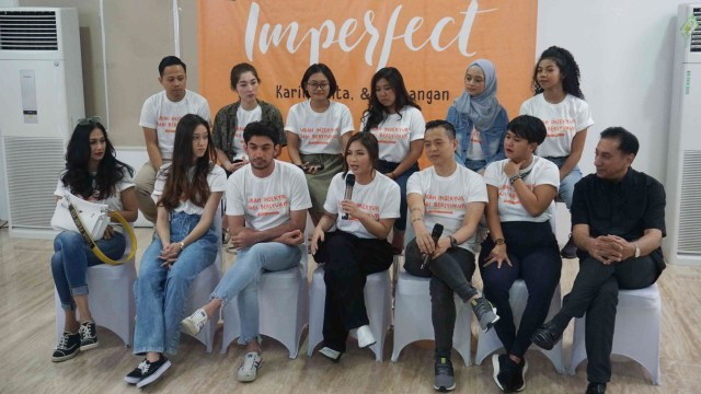 Peluncuran Trailer Film IMPERFECT, Jessica Mila
