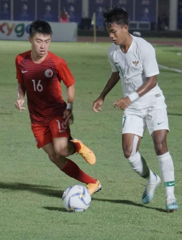 Timnas U-19 Hantam Hong Kong Empat Gol Tanpa Balas (13464)