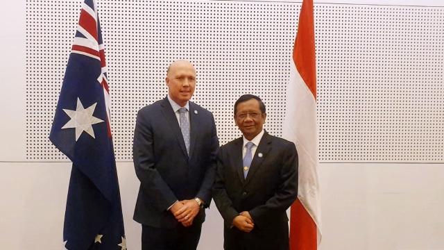Menko Polhukam Mahfud MD kunjungan ke Australia