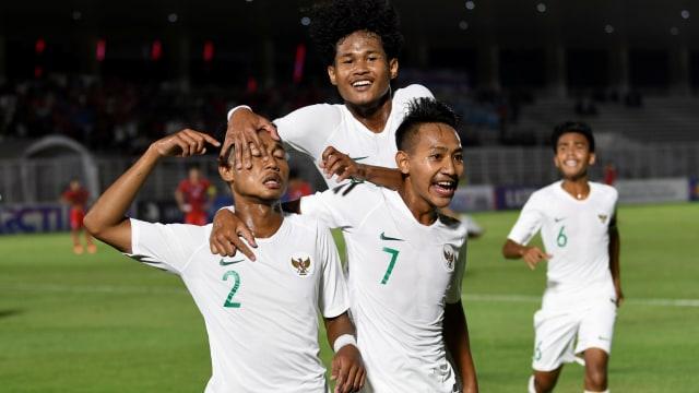 Timnas U-19 Hantam Hong Kong Empat Gol Tanpa Balas (13465)