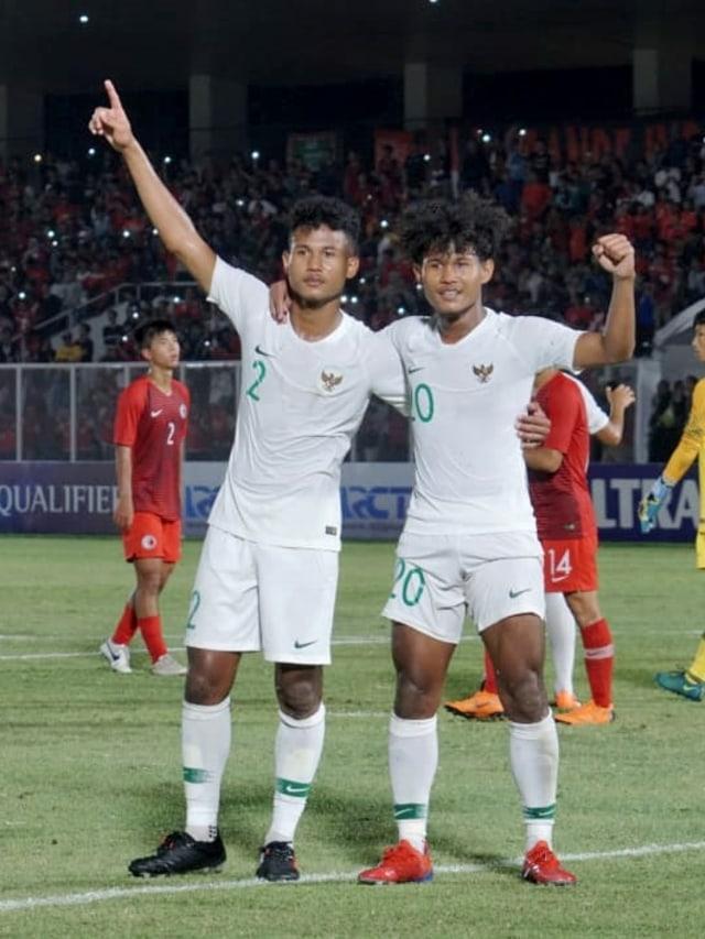 PTR, Timnas Indonesia U-19, Hong Kong, AFC U-19
