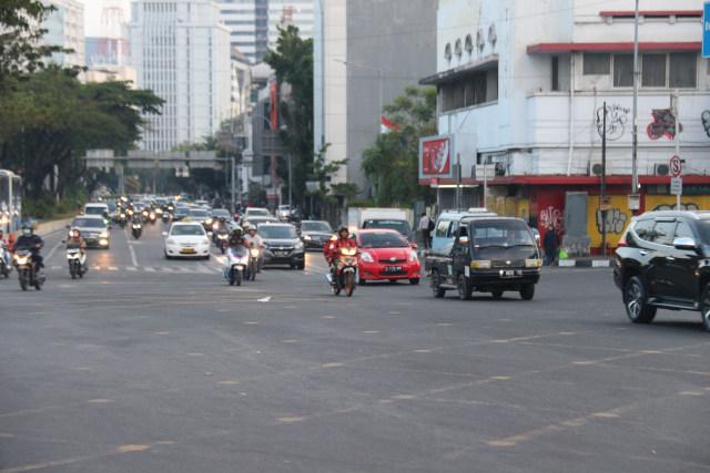 Sistem Ganjil Genap di DKI Jakarta Masih Belum Berlaku Selama PSBB Ketat (45090)