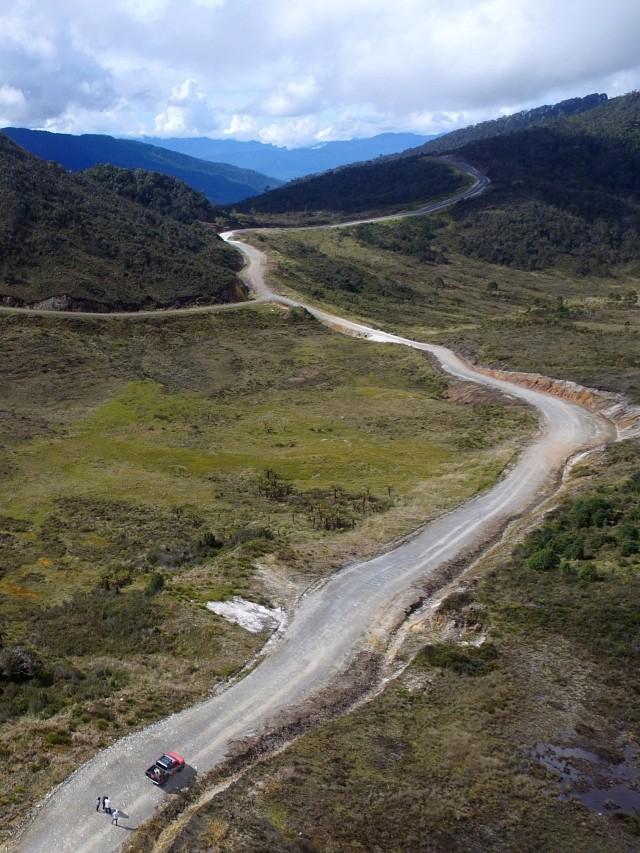 26 Km Jalan Trans Papua Belum Terbangun karena Gangguan Keamanan (533167)
