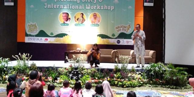 Festival Dongeng Surabaya, Hadirkan Pendongeng dari India dan Hawaii (150268)