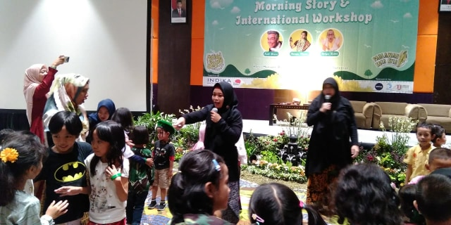 Festival Dongeng Surabaya, Hadirkan Pendongeng dari India dan Hawaii (150270)