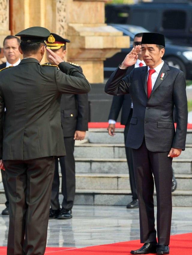 Jokowi Ziarah ke TMP Kalibata (PTR)