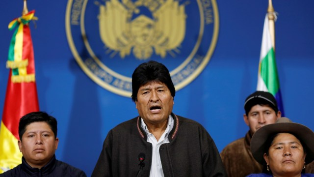 Presiden Bolivia Evo Morales Mengundurkan Diri (543041)