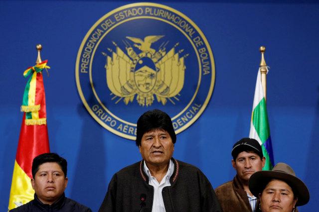 Presiden Bolivia, Evo Morales