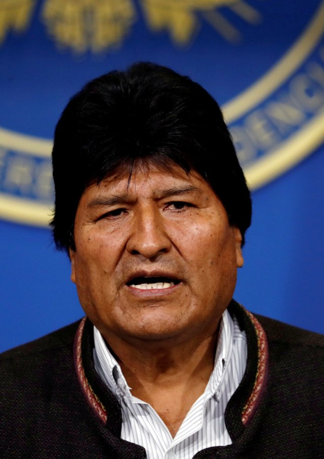 Eks Presiden Bolivia Evo Morales Dituduh Terlibat Skandal Seks di Bawah Umur (1406)