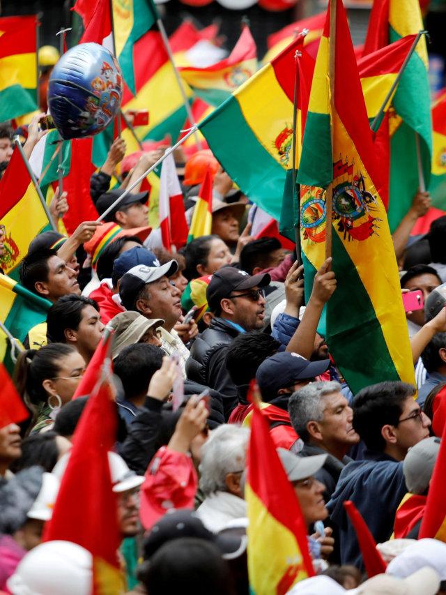 Evo Morales Mengundurkan Diri, Meksiko Tawarkan Suaka (44512)