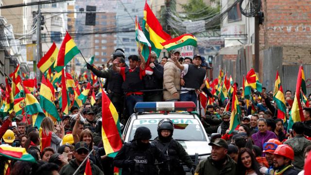 Presiden Bolivia Evo Morales Mengundurkan Diri (543042)