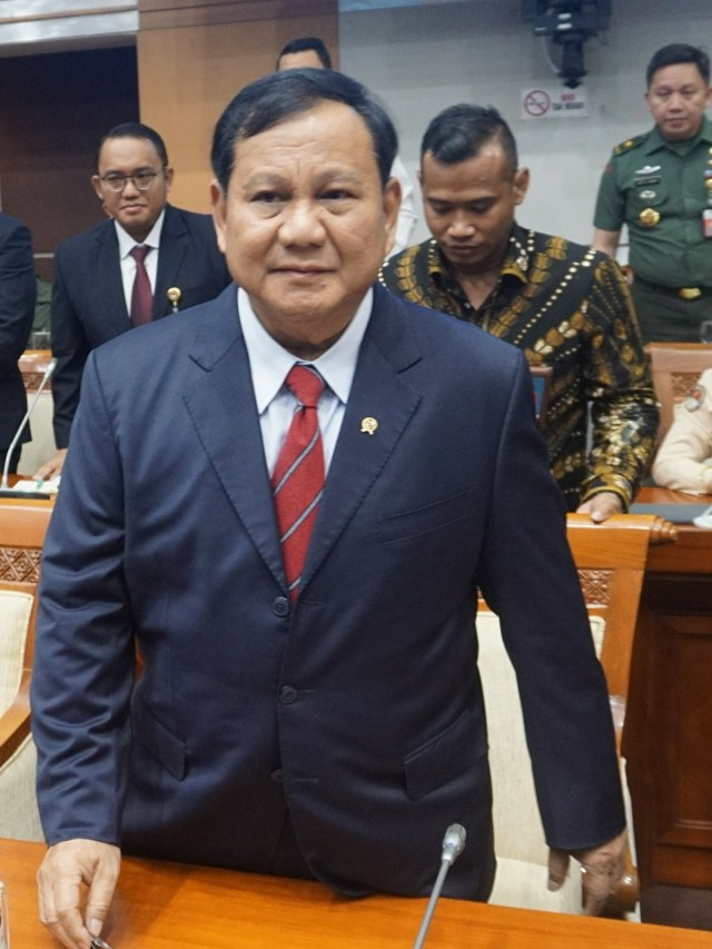 Prabowo Tunggu PP soal Wujudkan Pertahanan Rakyat Semesta  (21045)
