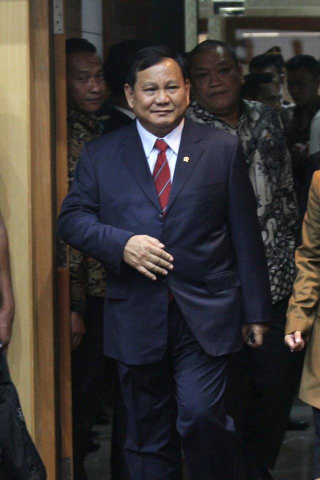 Prabowo Subianto, Komisi I DPR RI, POTRAIT