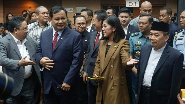 Prabowo Subianto, Komisi I DPR RI