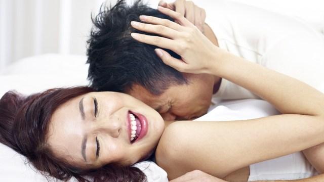 Ilustrasi berhubungan seks.
