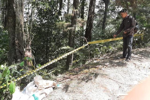 lokasi penemuan mayat dalam koper di Bogor