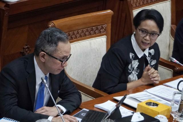 Raker Perdana dengan Komisi I, Menlu Retno Paparkan Rencana Kerja 2020 (120995)