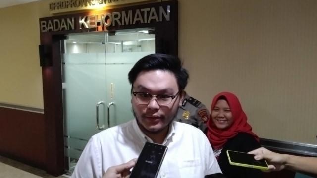 Anggota DPRD DKI Jakarta dari fraksi PSI William Aditya