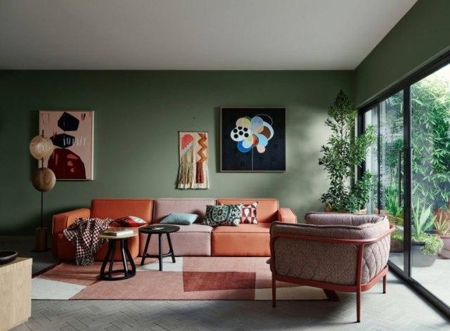 Hasil gambar untuk Skema Warna Hijau untuk Desain Interior Rumah