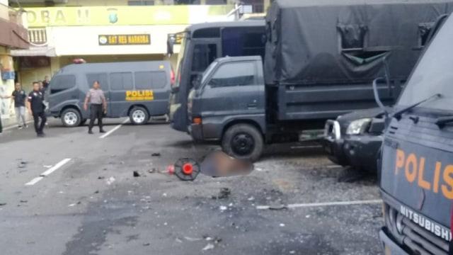 Pelaku bom bunuh diri di Polrestabes Medan