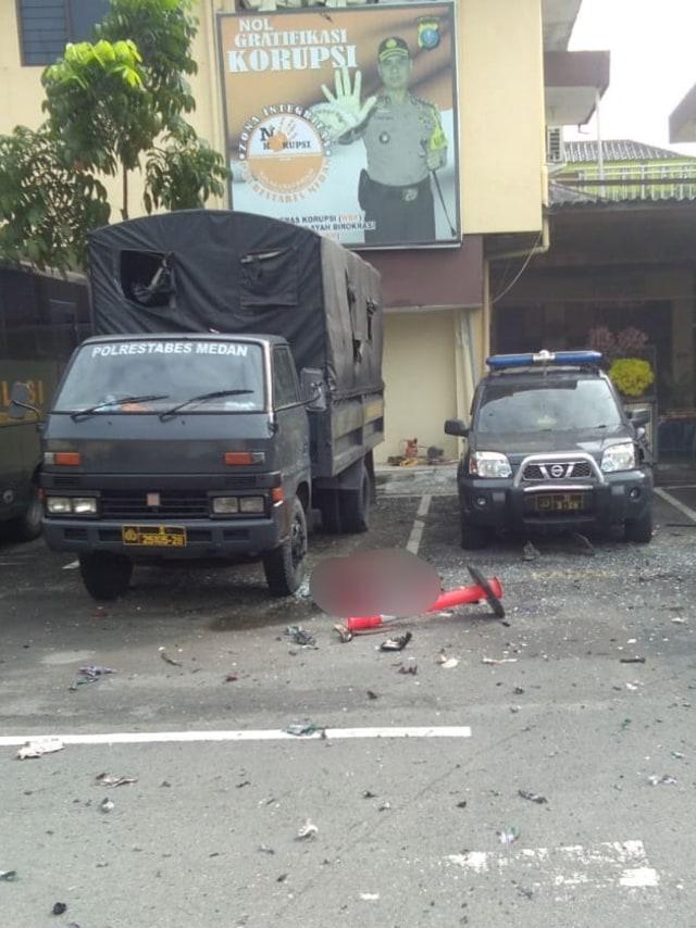 Bom bunuh diri di Polrestabes Medan, POTRAIT