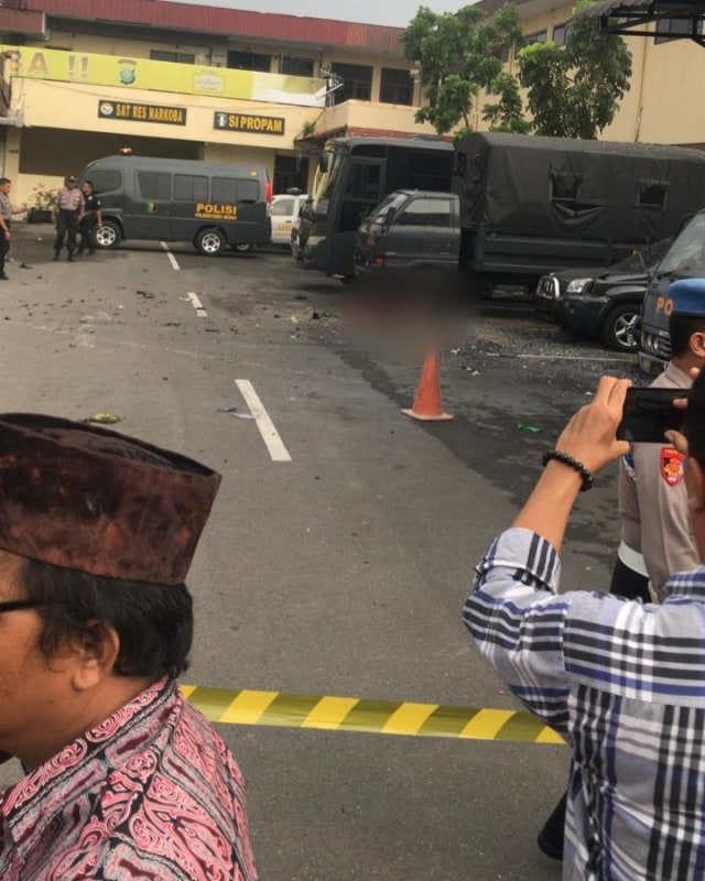 Pelaku bom bunuh diri di Polrestabes Medan, POTRAIT