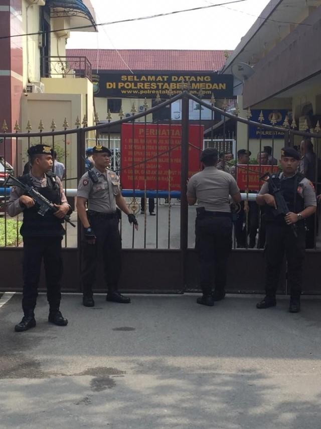 Bom bunuh diri, Polrestabes Medan, POTRAIT
