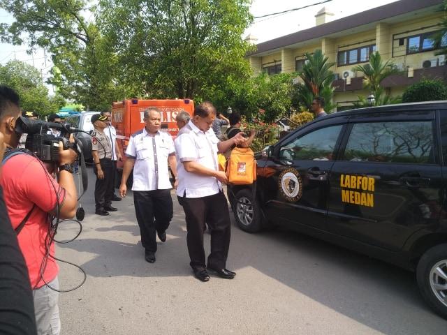 Polri Selidiki Jaringan Pelaku Bom Bunuh Diri Polrestabes Medan (128301)
