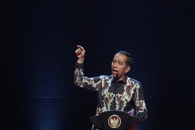Joko Widodo, Rakornas Pemerintah Pusat, Forkopimda, Sentul