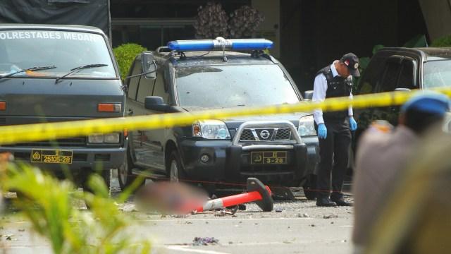 Fakta-fakta Bom Bunuh Diri di Polrestabes Medan (4081)