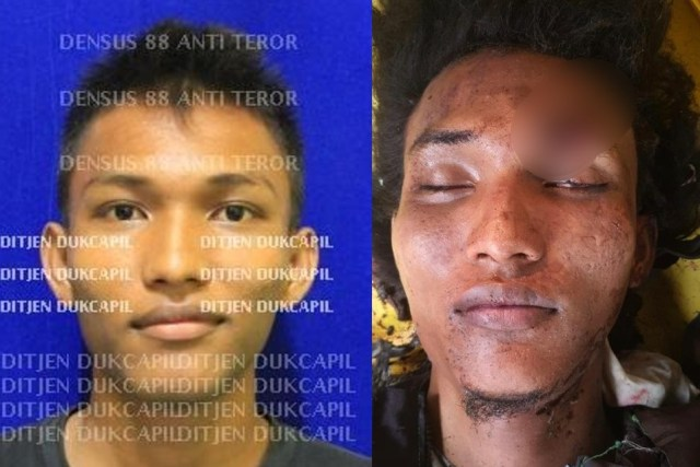 Polri: Pelaku Bom Bunuh Diri di Polrestabes Medan Lone Wolf (52245)