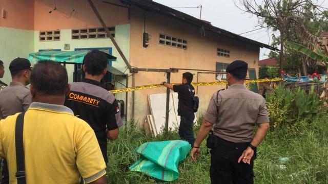 Kediaman Pelaku Bom Bunuh diri, Medan