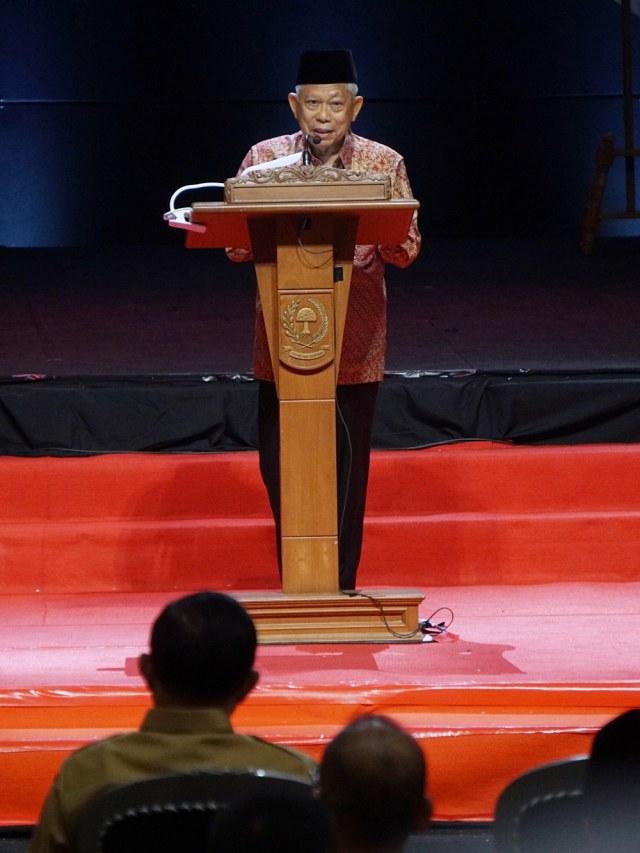 PTR, Wakil Presiden Ma'ruf Amin, Rakornas