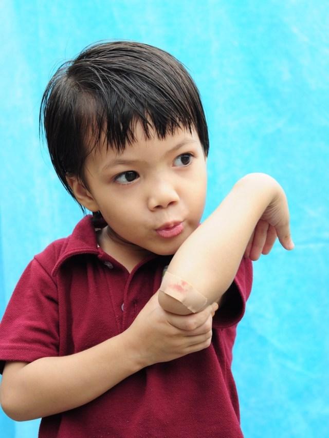 Ilustrasi Anak Terluka