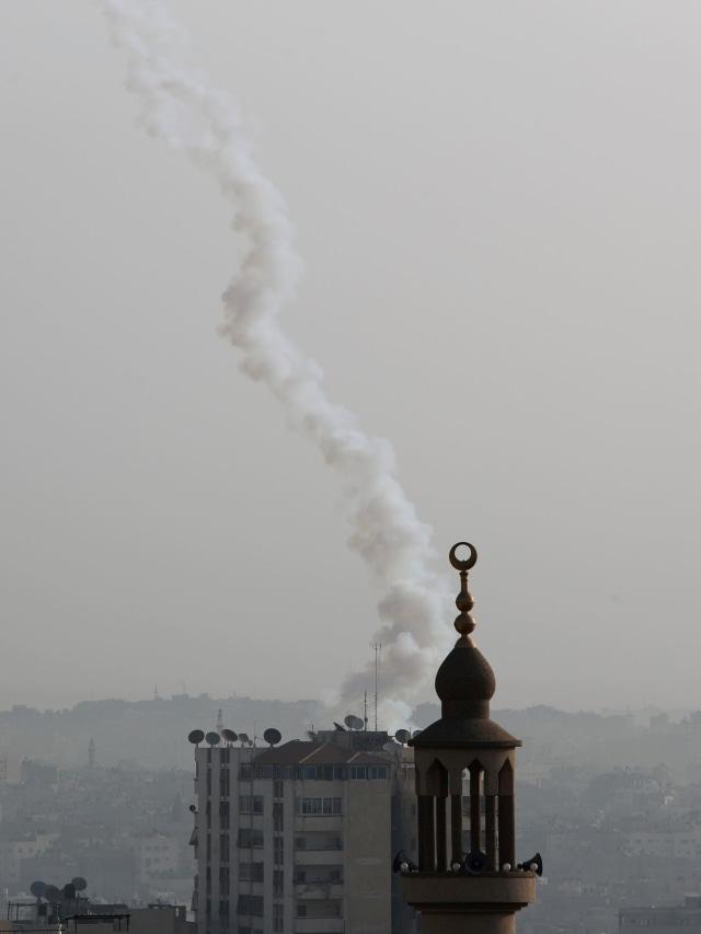 Gaza, Serangan Roket, POTRAIT