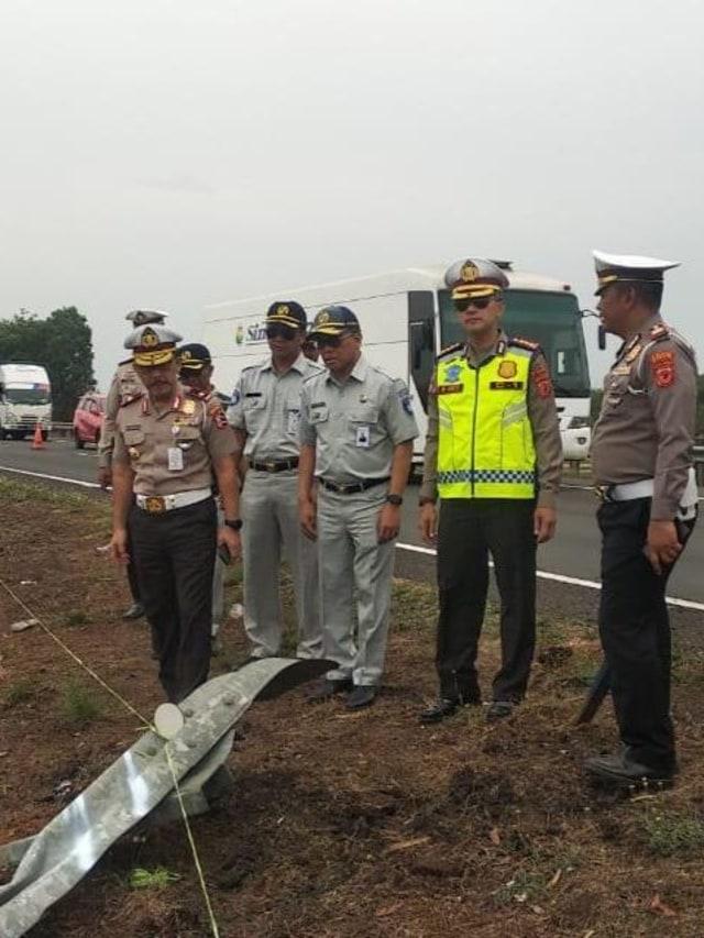 Sopir Bus Sinar Jaya Jadi Tersangka Tabrakan Maut di Tol Cipali KM 117 (50416)