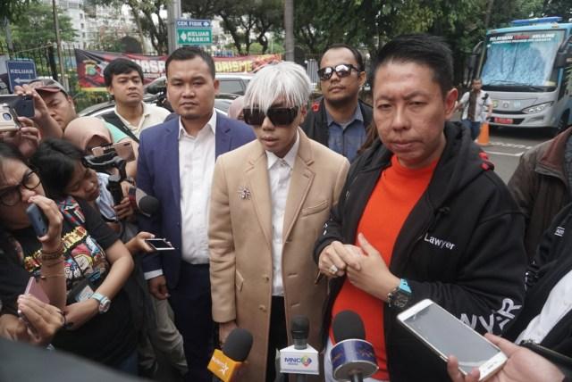 Roy Kiyoshi di Polda Metro Jaya