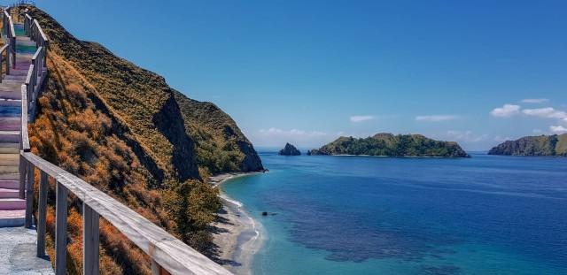 Pulo Dua Pantai Primadona Di Kabupaten Banggai Kumparan Com