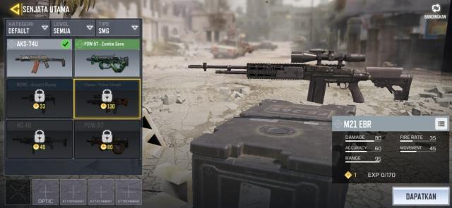 5 Senjata Paling Mematikan di Game 'Call of Duty Mobile' (68952)