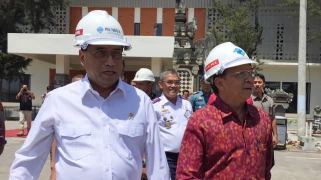 Reklamasi Pelabuhan Benoa, Budi Karya Sumadi, Wayan Koster