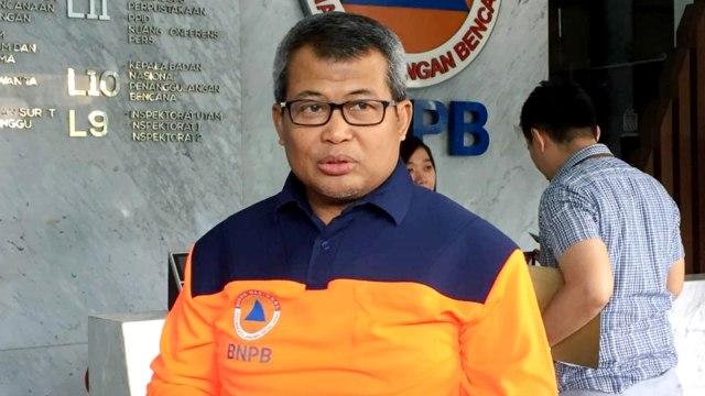 Kepala Pusat Data dan Informasi BNPB, Agus Wibowo