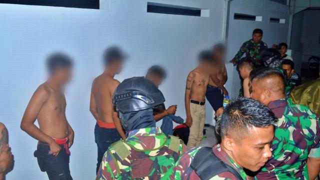 TNI-Polri di Gorontalo Amankan 13 Remaja yang Mabuk Lem (123252)