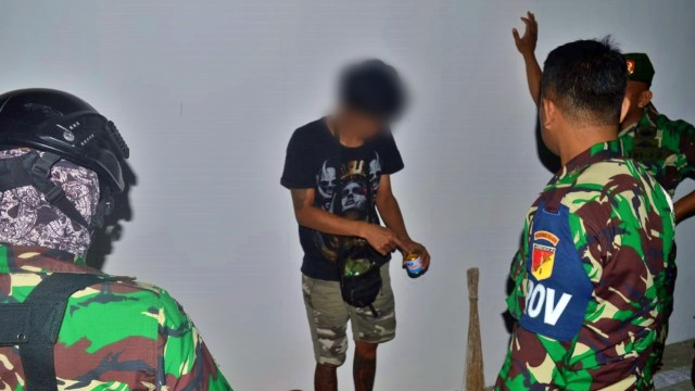 TNI-Polri di Gorontalo Amankan 13 Remaja yang Mabuk Lem (123254)