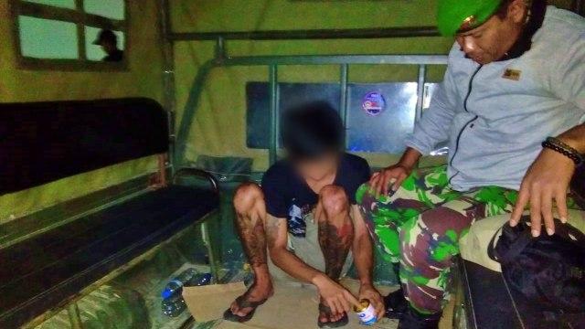 TNI-Polri di Gorontalo Amankan 13 Remaja yang Mabuk Lem (123255)