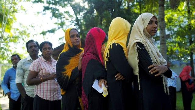 Warga muslim Sri Lanka, Pemilihan Presiden di Srilanka