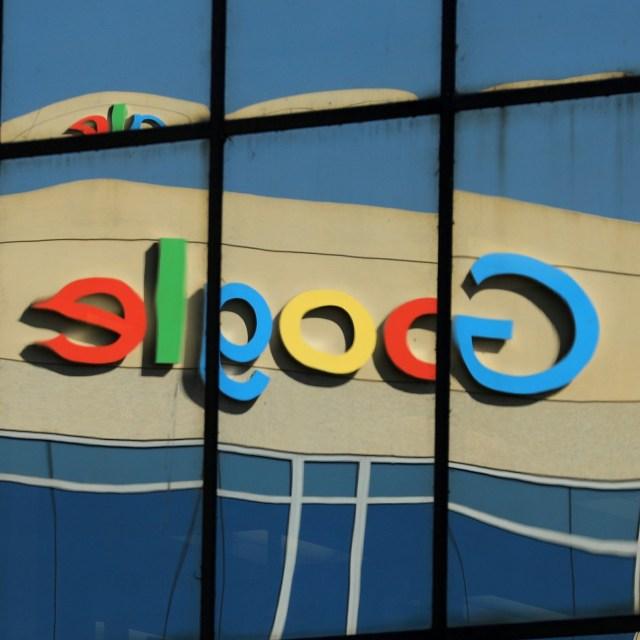 Refleksi logo Google