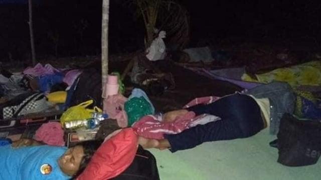 Foto: Pascagempa, Warga Ternate Masih Bertahan di Tenda Pengungsian (498165)