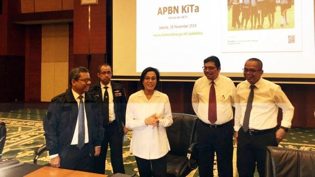 Di Depan MK, Sri Mulyani Jelaskan Soal Urgensi Pelebaran Defisit APBN (32374)